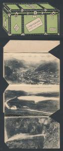 Leporello-AK Mont-Dore / Auvergne, Ansichten in einer Truhe, Ortsansicht, Le Puy de Dome, Viaduc des Fades