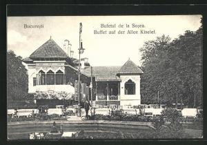 AK Bucuresti, Buffet auf der Allee Kiselef