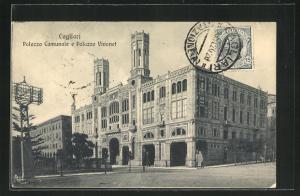 AK Cagliari, Palazzo Comunale e Palazzo Vivanet