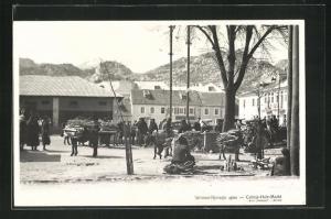 AK Cetinje, Holz-Markt