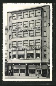 AK Anvers, Hotel des Sports, Place Reine Astrid 31-32