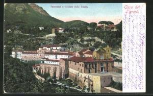 AK Cava dei Tirreni, Panorama e facciata della Trinita
