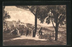 AK Catanzaro, Villa Margherita, Aussichtsplatz