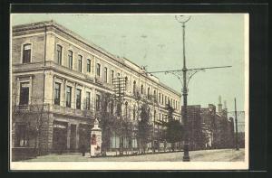 AK Tiflis, Hotel Oriant, Längsfassade