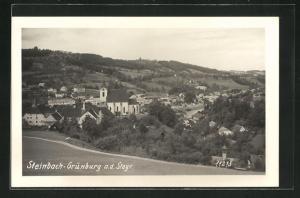 AK Steinbach-Grünburg a. d. Steyr, Ortsansicht