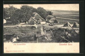 AK Horst, alte Fischerhütten
