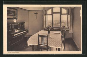AK Zobten am Berge, Exerzitienhaus St. Ignatius, Sprechzimmer