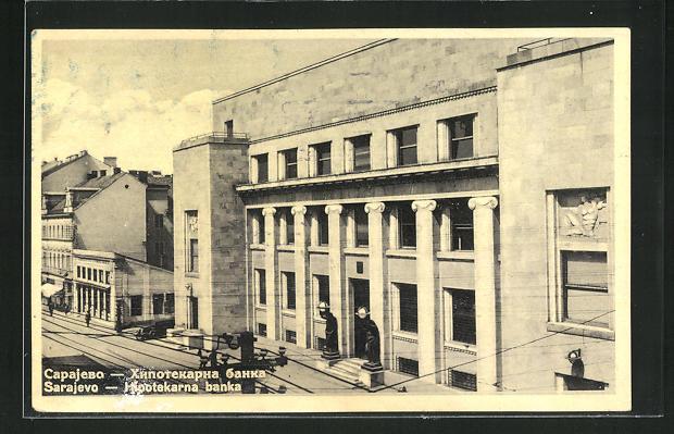 AK Sarajewo, Hipotekarna banka, Bankgebäude 0