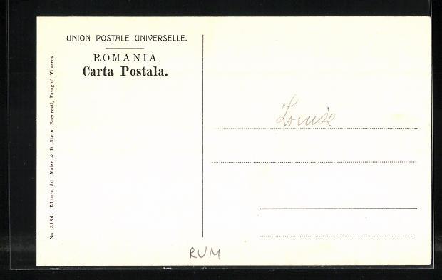 AK Bucuresti, Museul de Istorie Naturala 1