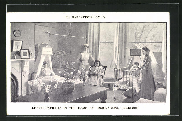 AK Bradford, Dr. Barnardo`s Home, Little Patients in the Home for Incurables 0