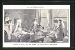 AK Bradford, Dr. Barnardo`s Home, Little Patients in the Home for Incurables