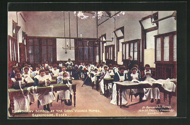 AK Barkingside, Embroidery School at the Girl`s Village Homes 0