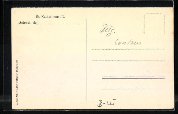 AK Astenet, St. Katharinenstfit, Handarbeitszimmer 1