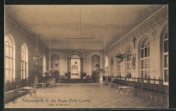 AK Courtrai, Pensionnat N. D. des Anges, Salle de Reunion 0