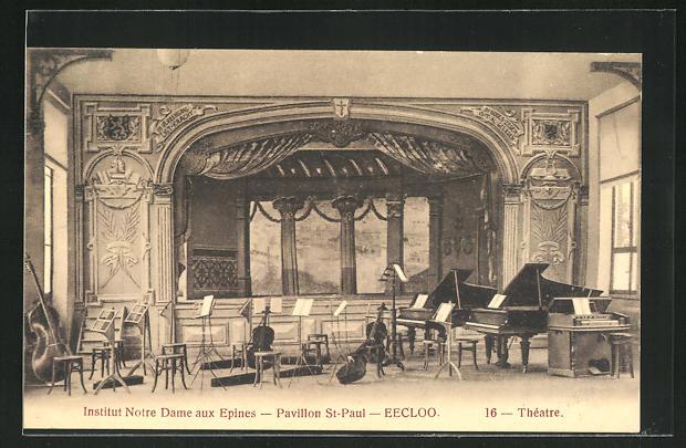 AK Eecloo, Institut Notre Dame aux Epines, Pavillon St-Paul, Theatre 0