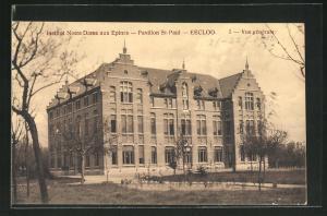 AK Eecloo, Institut Notre Dame aux Epines, Pavillon St-Paul, Vue generale
