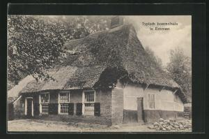 AK Emmen, Typisch boerenhuis, Reetdachhaus