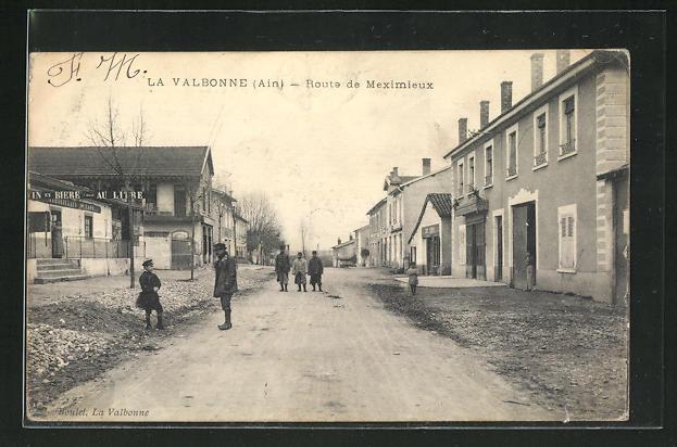 AK La Valbonne, Route de Meximieux 0