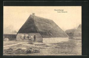 AK Noordbarge, Oude Scheperij, Reetdachhaus