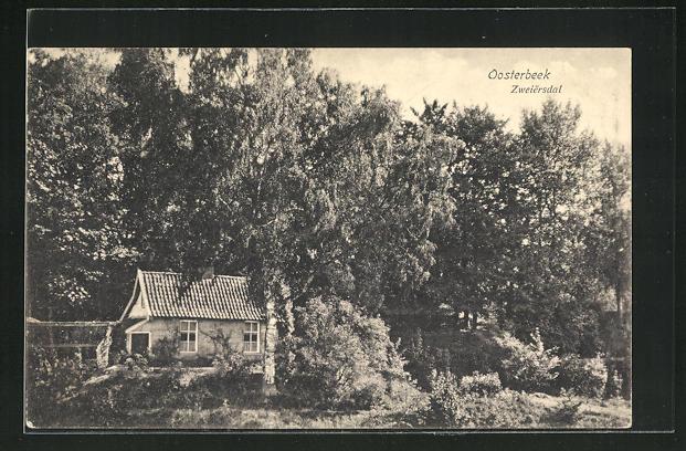 AK Oosterbeek, Zweiersdal, Haus am Wald 0
