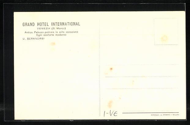 AK Venezia, Grand Hotel International, Camera da Letto, Stile 700 1