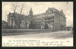 AK Philadelphia, PA, The German Hospital