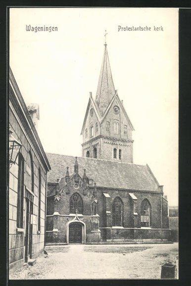 AK Wageningen, Protestantsche kerk 0