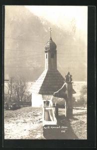AK Maurach-Eben, Kapelle und Brunnen