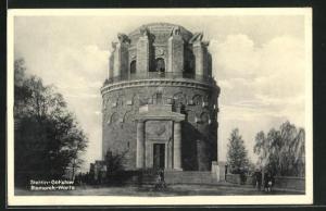 AK Stettin-Gotzlow, Ansicht der Bismarck-Warte