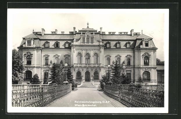 AK Wien-Schwechat., Reichsschulungsburg 0