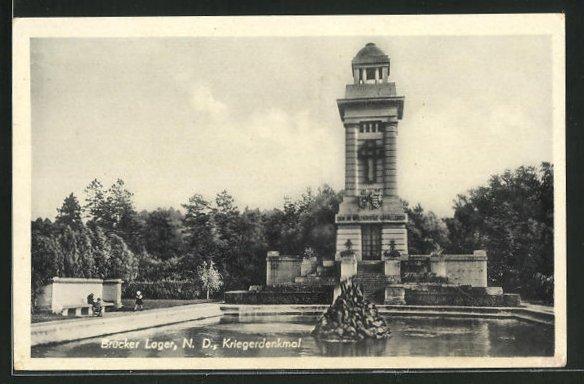AK Brucker Lager, Kriegerdenkmal 0