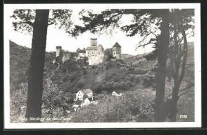 AK Hardegg an der Thaya, Blick zur Burg