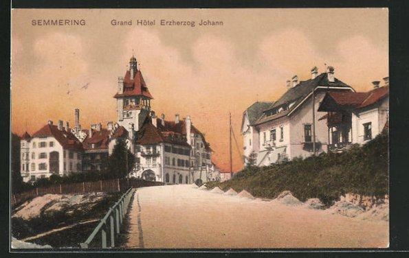 AK Semmering, Grand Hotel Erzherzog Johann 0