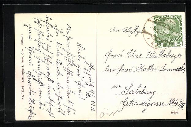 AK Semmering, Grand Hotel Erzherzog Johann 1