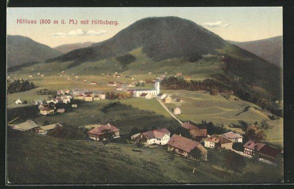 AK Hittisau, Gesamtansicht mit Hittisberg 0