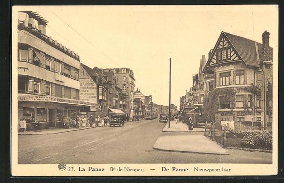 AK La Panne, Bd. de Nieuport 0