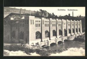 AK Trollhättan, Kraftstationen