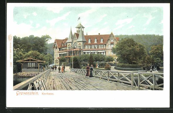 AK Gravenstein, Brücke am Kurhaus 0
