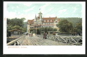 AK Gravenstein, Brücke am Kurhaus