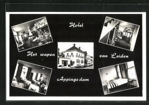 AK Appingedam, Hotel-Café-Restaurant-Concertzaal Het Wapen van Leiden, Wijkstraat
