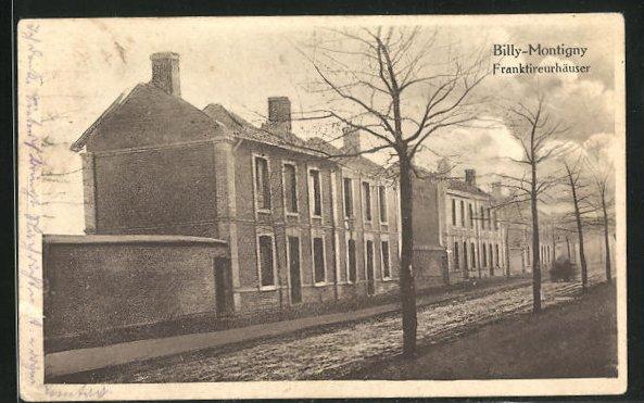 AK Billy-Montigny, Franktireurhäuser 0