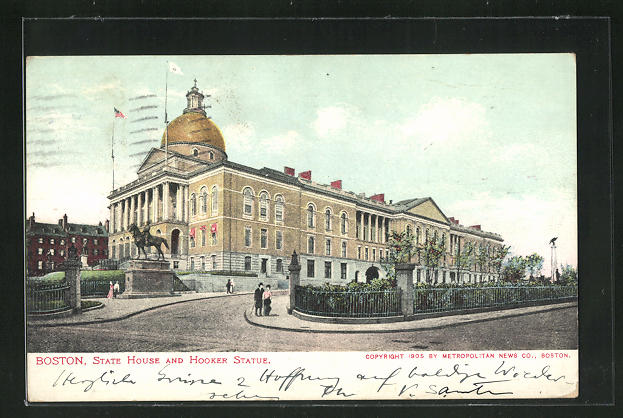 AK Boston, State House and Hooker Statue 0