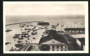 AK Bahia, Blick zum Hafen
