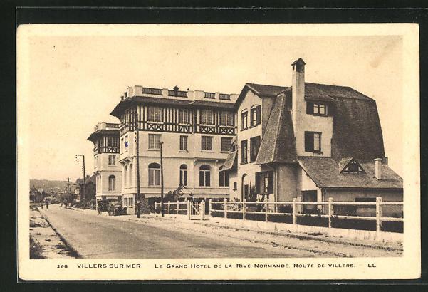 AK Villers-sur-Mer, Le Grand Hotel de la Rive Normande 0