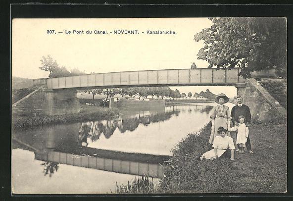 AK Noveant, Le Pont du Canal, Kanalbrücke 0