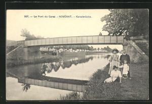 AK Noveant, Le Pont du Canal, Kanalbrücke