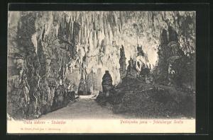 AK Adelsberger Grotte, Säulentor, Vrata stebro