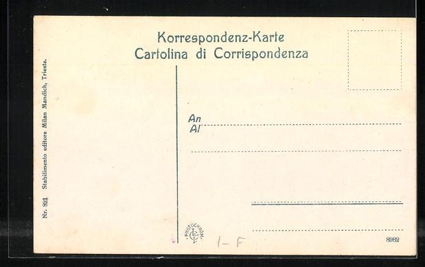 AK Trieste, Molo San Carlo 1