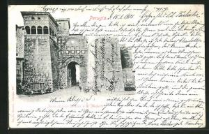 AK Perugia, Porta Urbica Etrusca o di Augusto