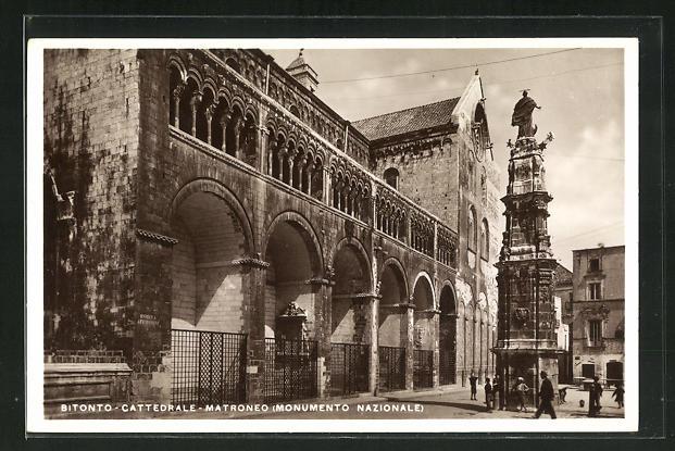 AK Bitonto, Cattedrale MAtroneo, Monumento Nazionale 0